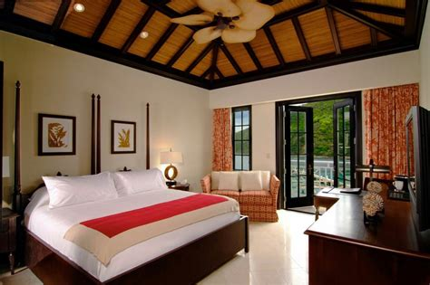luxury guest bedroom scrub island spa marina incredible caribbean weddings
