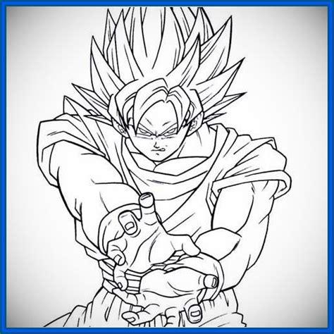imagenes goku dragon ball z dibujos de dragon ball z para colorear dificiles archivos