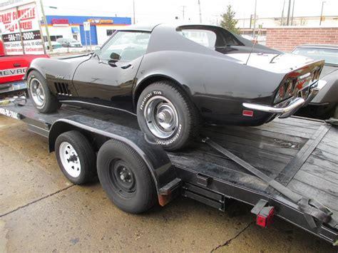 1969 corvette for sale 1969 black corvette coupe 350 350 4 speed project car with
