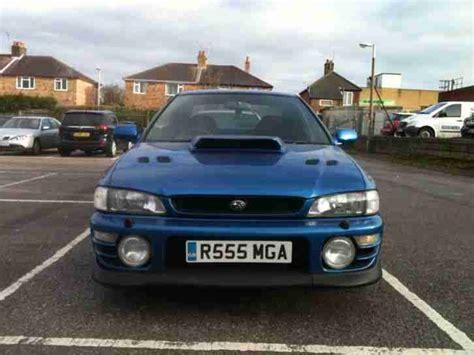 subaru terzo for sale subaru impreza turbo terzo blue ltd edition made 333 only
