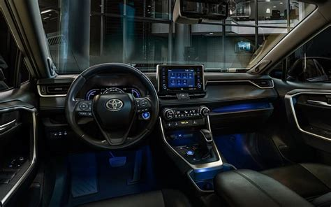 toyota rav4 2020 interior 2019 toyota rav4 hybrid specs review pricing trims