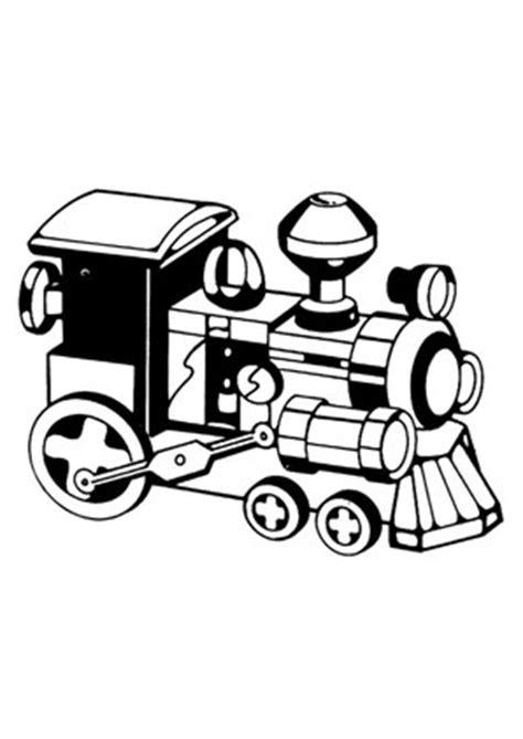 ausmalbilder schwarze lokomotive spielsachen malvorlagen