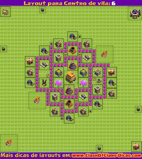 layout cv nv 5 melhores layouts para clash of clans centro de vila n 237 vel