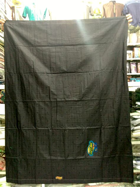 Sarung Polos sarung hitam polos sapphire busanamuslimpria