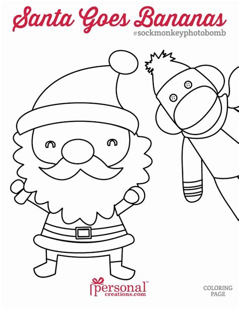 sock monkey coloring pages coloring home