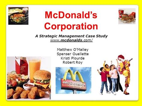 mcdonalds powerpoint template mcdonalds powerpoint authorstream