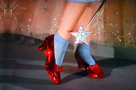 wizard of oz slippers there s no place like home dorothy gps shoes