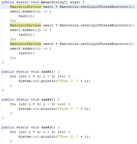 tutorial java executor ejecuci 243 n de instrucciones en paralelo con java