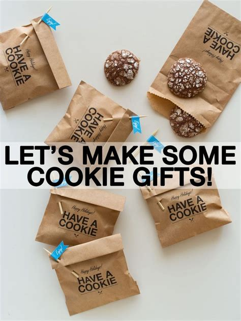 cookie gifts ideas cookie gifts door gift ideas