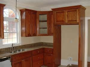 Wrap Around Kitchen Cabinets by Cabinets Wrap Around Enclosed Fridge Decorhome