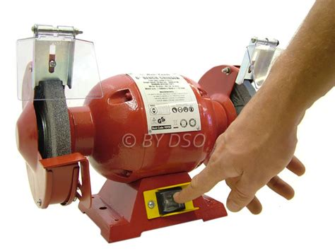quality bench grinder am tech powerful 150mm 6 inch 370w high quality bench