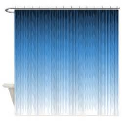 blue shower curtain by coppercreekdesignstudio