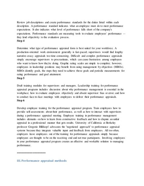 research paper on performance appraisal research paper on performance appraisal