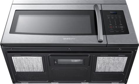 samsung the range microwave samsung me16k3000as 1 6 cu ft the range microwave oven with 1 000 cooking watts 300 cfm
