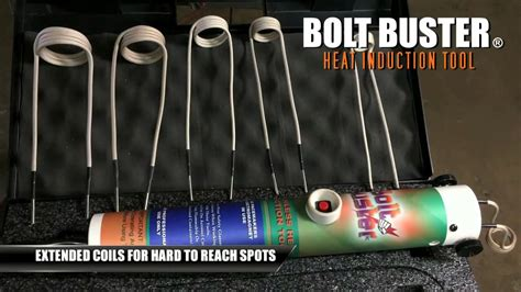 induction heater rusted bolts bolt buster rusted bolt removal heat induction tool available 110 volt and 240 volt