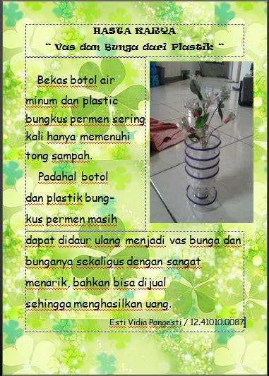 hasta karya vas  bunga  plastik ninna setyawati