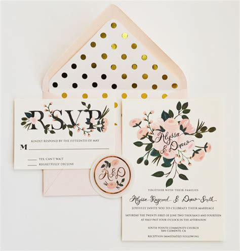 Unique Wedding Invitation Inserts by 13 Gorgeous Envelope Inserts For Your Wedding Stationery
