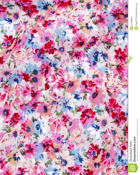printable fabric flower patterns fabric with printed flower pattern stock photo image