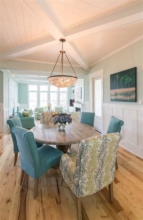 coastal dining rooms coralberry cottage house of turquoise