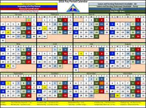 2018 Calendar Opm 2016 Pay Period Calendar Federal Gov Calendar Template 2017