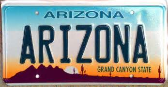 how do i get license plates for a new car arizona outlaws plastic covers that obscure license