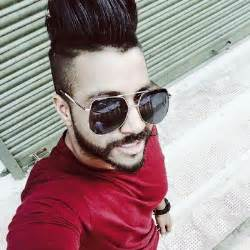 sukhe hairstyle sukhe muzical doctorz tall pomp with high fade hairstyle