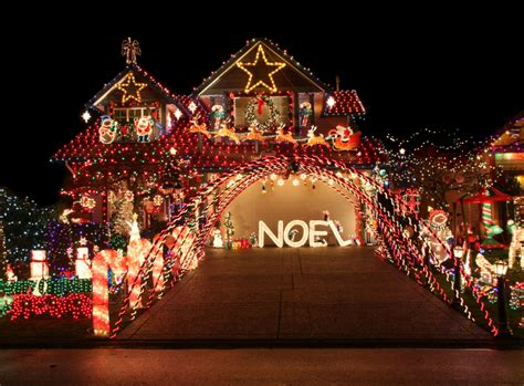 house with christmas lights set to music deck the halls with a tasteful light display metro detroit chevy dealers