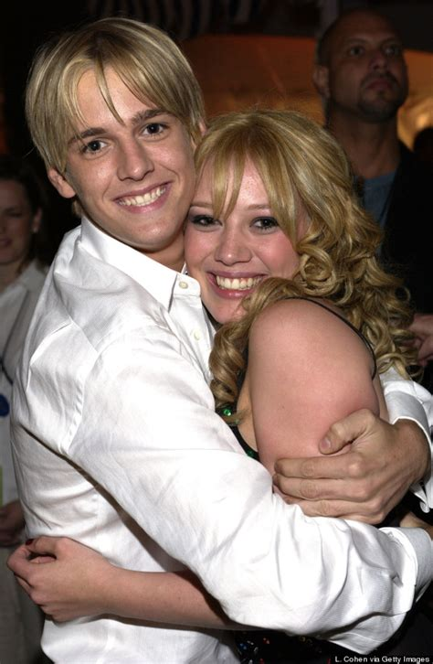 hilary duff sounds creeped out by aaron carter s