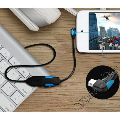 Kabel Usb Otg Android otg kabel 90 pre android micro usb do usb 20