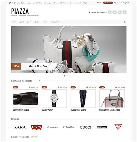 free and premium wordpress online store themes