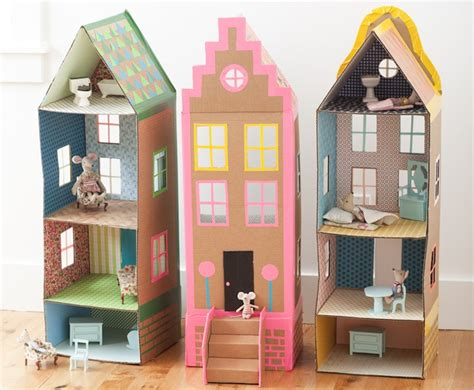 Dollhouse Handmade - 20 diy dollhouses that are eco friendly affordable and