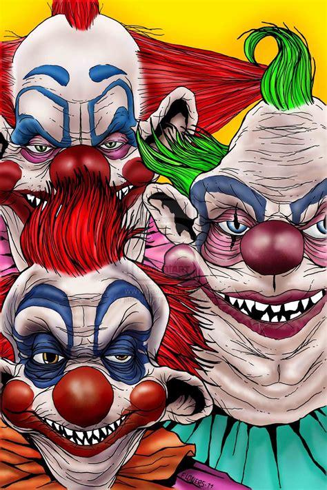 scary clown wallpaper screensavers  wallpapersafari