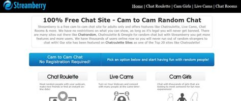 chat rooms for only streamberry is a free to chat site for adults only and offers features like