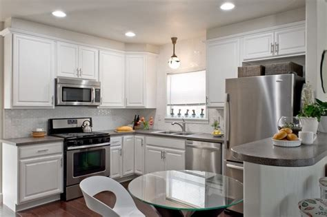 update white kitchen cabinets small kitchen update with white painted cabinets