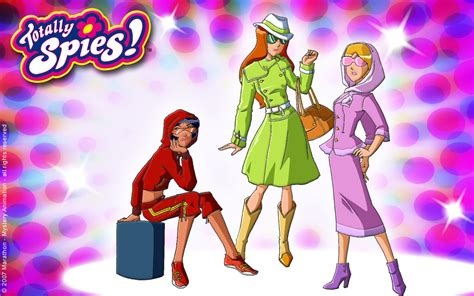 totally spies wallpapers totally spies wallpaper 24647560 fanpop