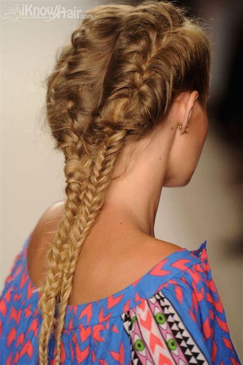 hair trends braid hairstyles fishtail