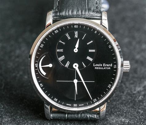 louis erard louis erard excellence regulator power reserve watch