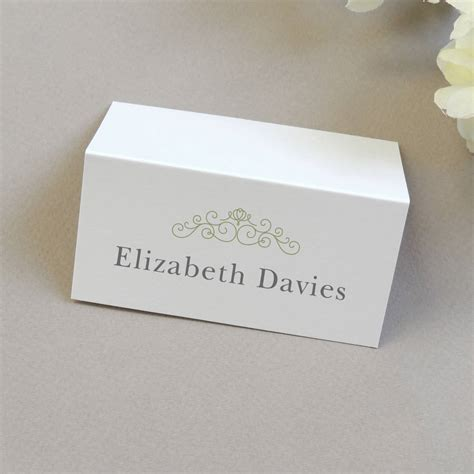 wedding name place cards by project pretty - Wedding Card Name
