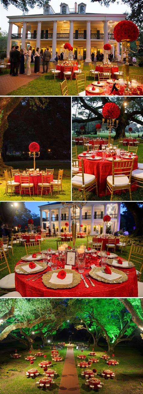 Deko Hochzeit Rot by Hochzeitsdeko Rot Gold Fotostory Mit Vielen Inispirationen