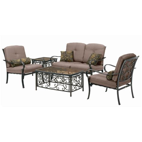 la z boy outdoor brittany 5 piece patio seating set
