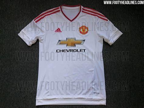 Jersey Mu Away 2015 2017 Manchester United Away Shirt For 2015 16 Season Leaked