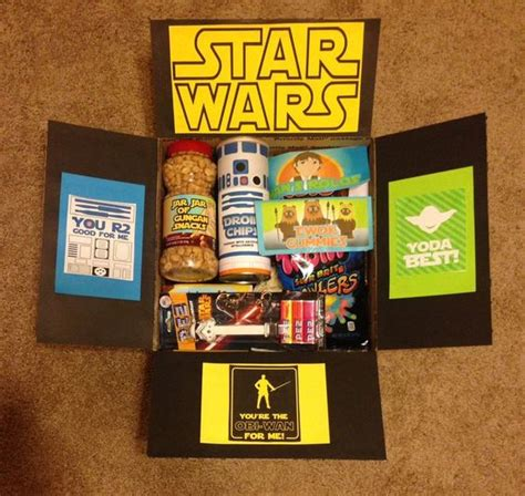 star wars care package christmas presents craft