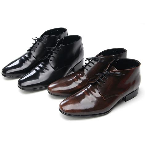 Dress Shoe Ankle by Mens Increase Height Leather Ankle Dress Shoes