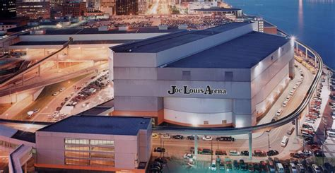 Joe Louis Arena Parking Garage by Event Spaces Cobo Center Detroit Michigan