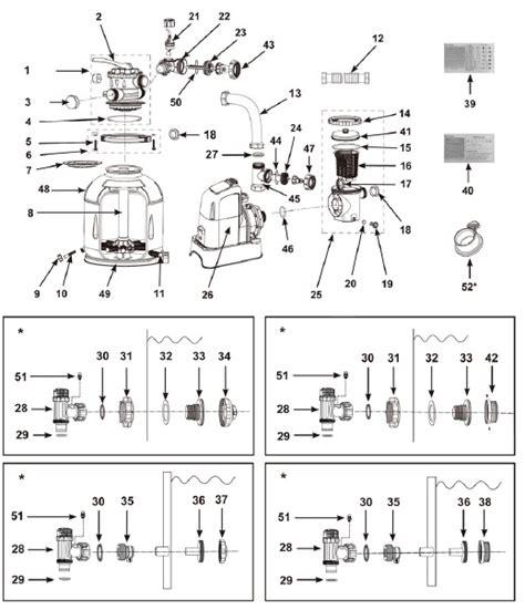 intex spa wiring diagram intex motor parts