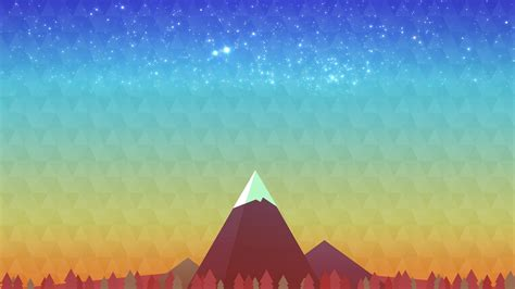 minimalist mountains minimalism mountain peak hd artist 4k wallpapers images backgrounds photos and pictures