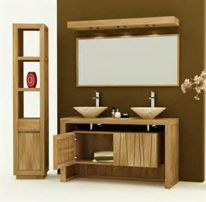 meuble sdb teck achat vente meuble de salle de bain teck remine meuble en