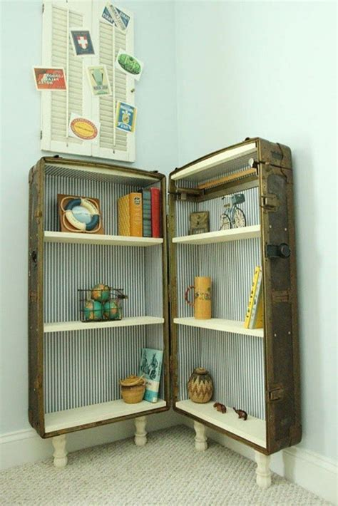 Repurposed Suitcases: Simple DIY Ideas for Decorating Your