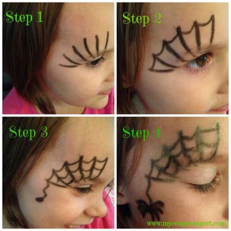 Printable Cheek Art Designs face painting friday diy spider web halloween face