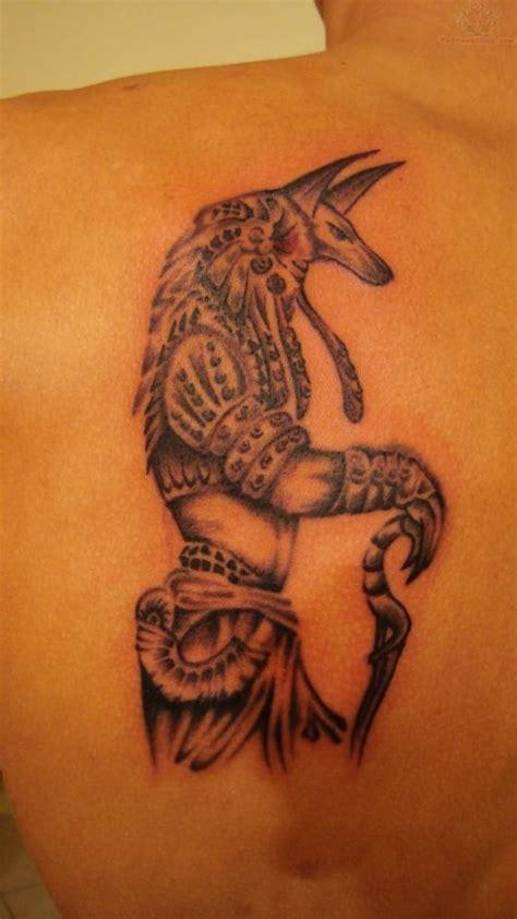 tattoo back left 8 anubis tattoos on back shoulder